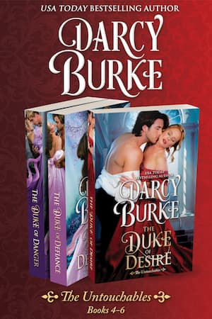 The Untouchables Boxed Set 4-6 by Darcy Burke