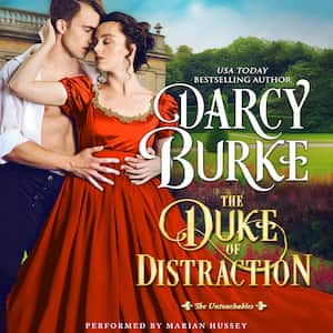 The Duke of Distraction audiobook by Darcy Burke