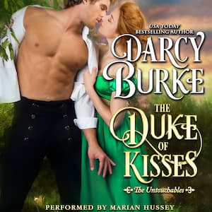 The Duke of Kisses audiobook by Darcy Burke